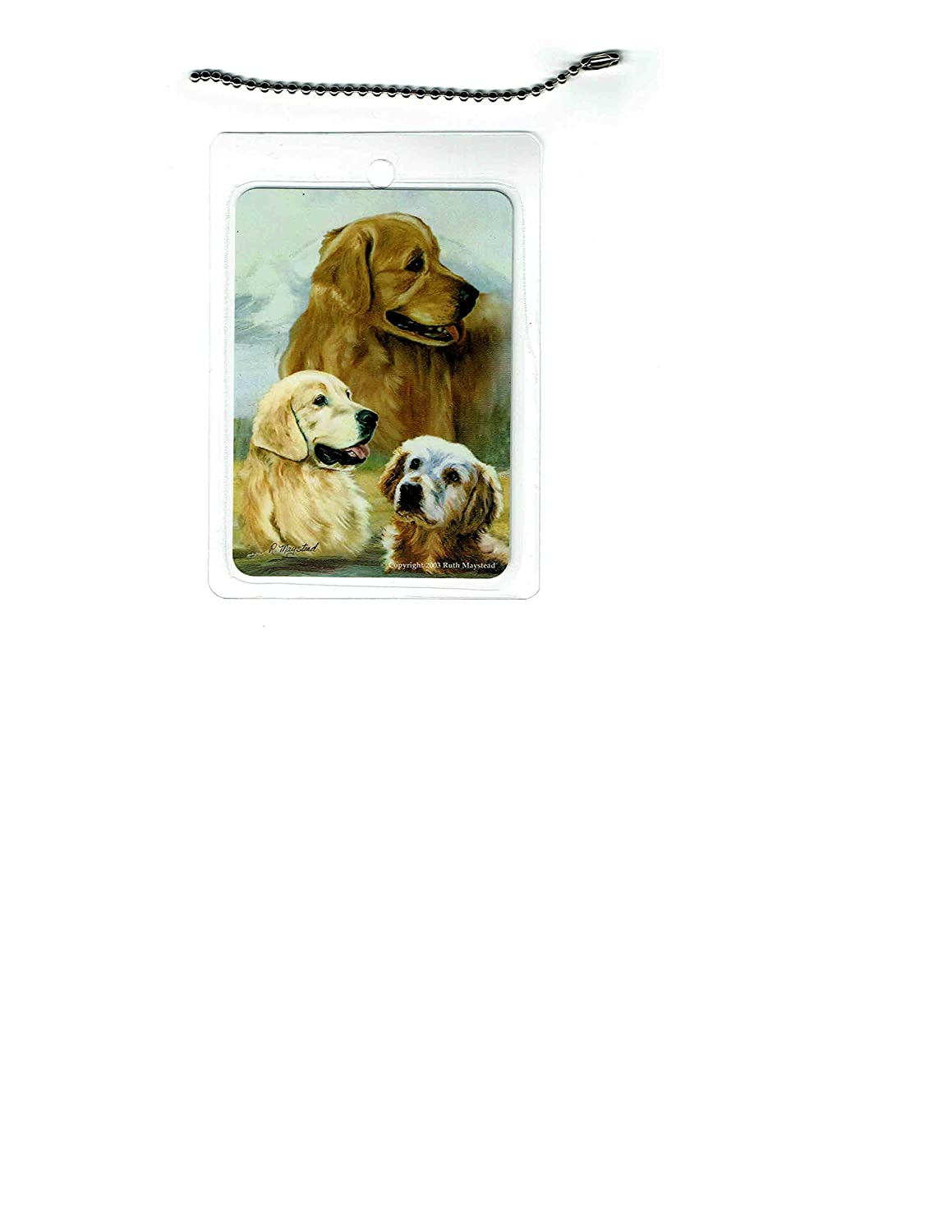 Golden Retriever latest Ranking TOP11 Dog Luggage 2 Tag set of