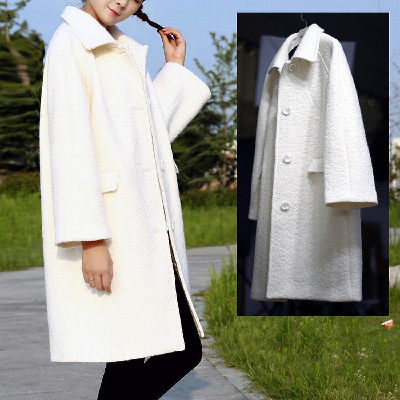 LD Fashion Autumn and Winter Coat Coat Coat Long Hair Girl