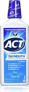 ACT Dry Mouth Mouthwash, Mint, 18 Fl Oz (Pack of 3)