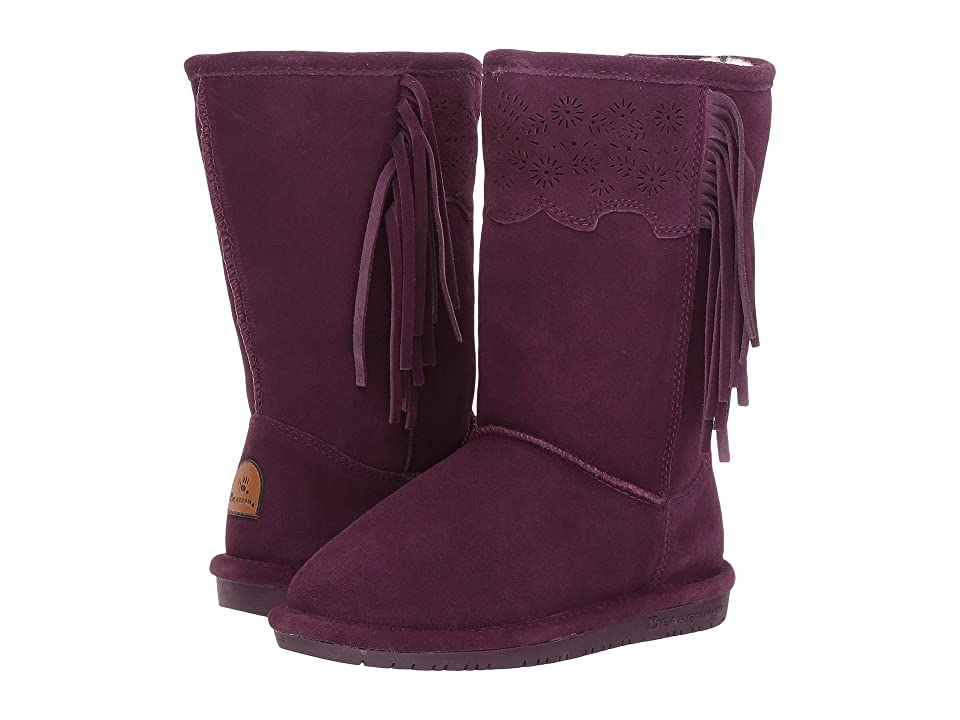 Bearpaw Kids Tallulah (Little Kid/Big Kid) (Plum) Girl