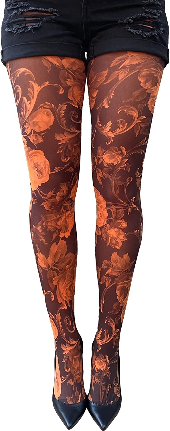 Floral Tights For Women
