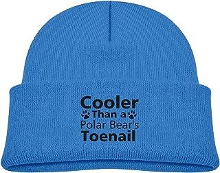 Banana King Cooler Than A Polar Bear's Toenail Baby Beanie Hat Toddler Winter Warm Knit Woolen Watch Cap for Kids