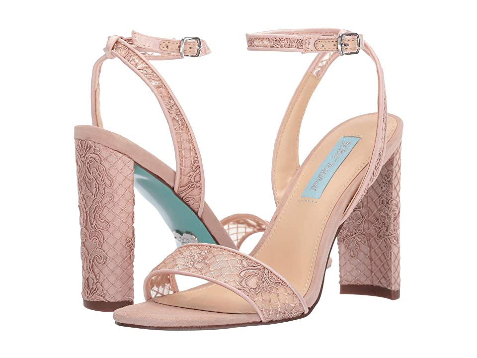 Blue by Betsey Johnson Kani (Pale Nude) High Heels