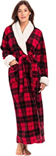 Best long plaid robe Reviews