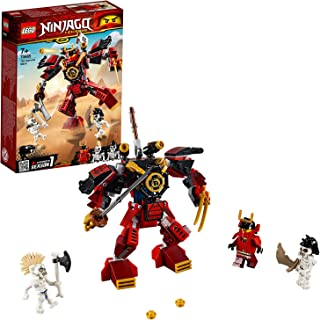 Lego Ninjago Legacy Samurai Mech Building Kit, Multi-Colour, 70665