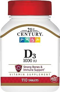 21ST CENTURY High Potency D3-1000 Iu 1Vitamin 000 Iu Tabs