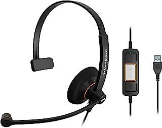 ゼンハイザー SC 30 USB ML エントリークラス 片耳USBヘッドセット、コールコントロール機能付 504546