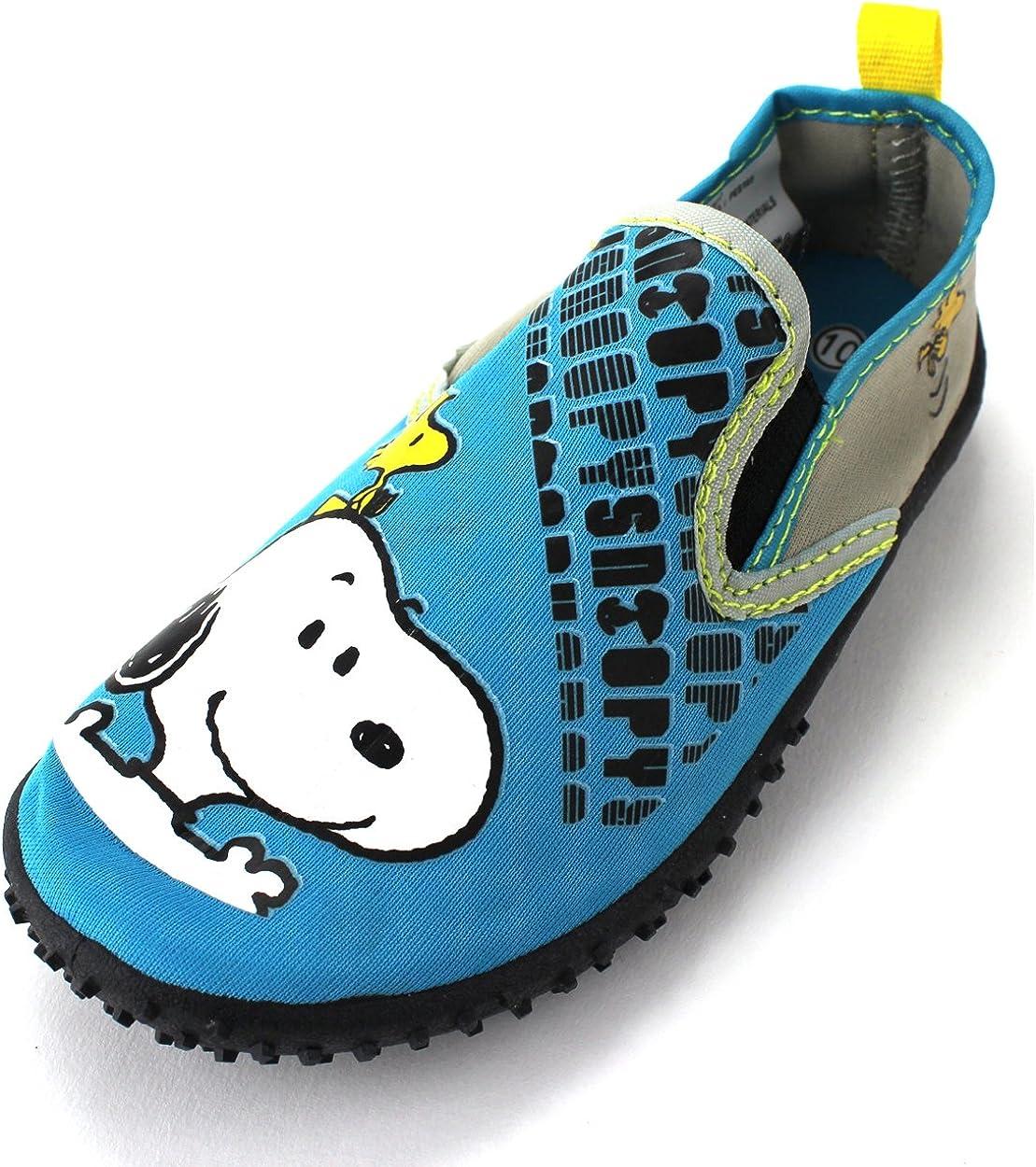 Peanuts Snoopy Boys Teal Aqua Socks