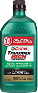 Castrol 06812-6PK Transmax High Mileage ATF, 1 Quart, Pack of 6