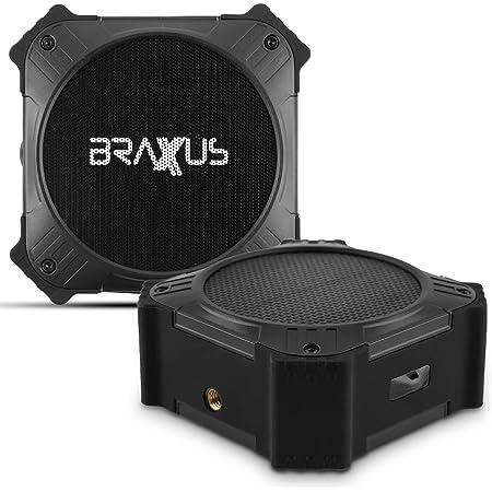 Braxus Solar Portable Bluetooth Speaker | Bluetooth Waterproof Speaker IPX6 | Bluetooth Golf Cart Speakers | Mountable Bluetooth Speakers | Wireless Speaker Bluetooth | Bluetooth Speaker Outdoor …