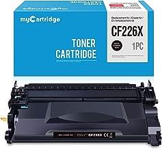 MYcartridge Negro Cartucho de tóner X Compatible HP 226X CF226X para HP Laserjet Pro M402d M402n M402dn M402dw M402dne MFP M426dw MFP M426fdn MFP M426fdw