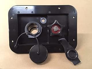Valterra BLACK Gravity / City Water Fill Dish Check Valve RV Trailer Marine