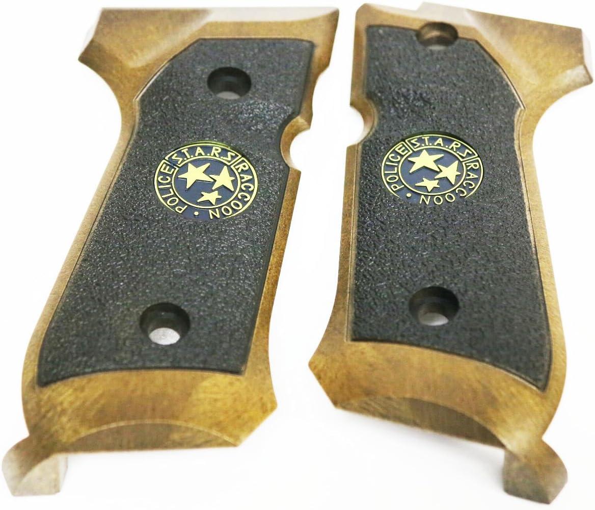 WE M9 STARS - Funda de agarre para WE M9 / M92 / M92F Airsoft GBB, color marrón