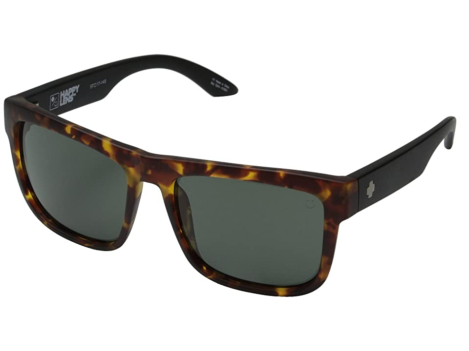 Spy Optic Discord (Vintage Tortoise/Happy Gray Green) Sport Sunglasses