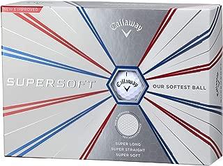 Callaway(キャロウェイ) ゴルフボール SUPER SOFT 1ダース(12個入り) 2019年モデル