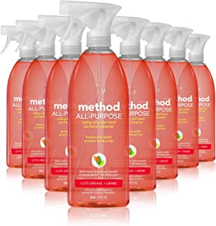 Method All Purpose Cleaner, Honeycrisp Apple, 28 Fl Oz (Pack of 8)