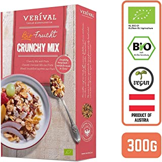 Verival Organic Crunchy Granola Mix with Fruits, 300 g
