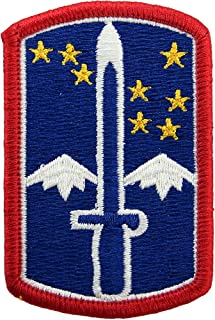 172nd Infantry Brigade Patch Full Color