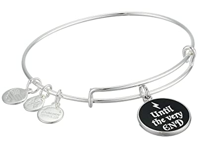 Alex and Ani Harry Potter Bangle Bracelet (Silver/Until the Very End) Bracelet
