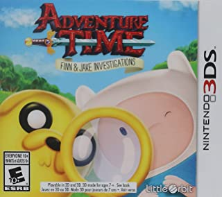 Adventure Time Finn and Jake Investigations 3DS - Nintendo 3DS