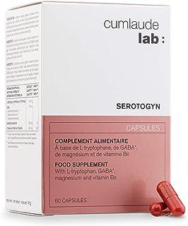 CUMLAUDE Serotogyn - Complemento Alimenticio para Disminuir los Sofocos durante la Menopausia - 60 Cápsulas