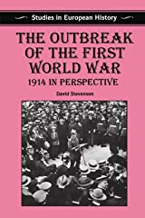 The Outbreak of the First World War: 1914 in Perspective Capa comum