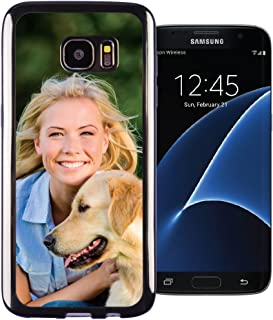 Galaxy S7 Edge PixCase - Create Your Own Custom Case - Personalize It Yourself – Insert Photos or Create Custom Designs Online and Change Anytime - Shock Absorbing case with Clear Picture Window
