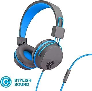JLab Audio Neon Folding On-Ear Headphones | Wired Headphones | Tangle Free Cord | Noise Isolation | 40mm Neodymium Drivers...