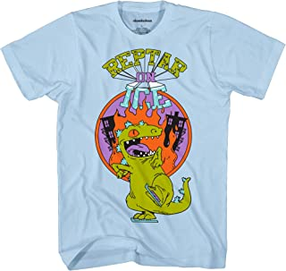 Nickelodeon Reptar On Ice Rugrats Tee Funny Humor Graphic Adult T-Shirt
