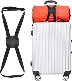 Luggage Straps Luggage Bungee Suitcase Adjustable Belt(Black)