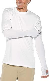 Coolibar UPF 50+ Unisex Perpetua UV Long Fingerless Sun Gloves - Sun Protective