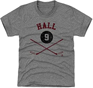 500 LEVEL Taylor Hall New Jersey Hockey Kids Shirt - Taylor Hall Sticks
