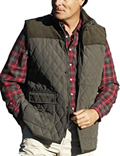 New Champion Country Estate gilet outdoor bodywarmer Diamond Quilted waistcoat Outerwear jacket fishing hunting shooting w...