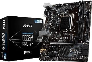 MSI B365M PRO-VH Intel B365 M LGA1151 Micro-ATX Desktop Motherboard