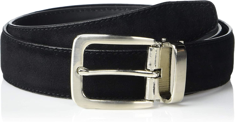 a.x.n.y Boys' Adjustable Faux Suede Belt