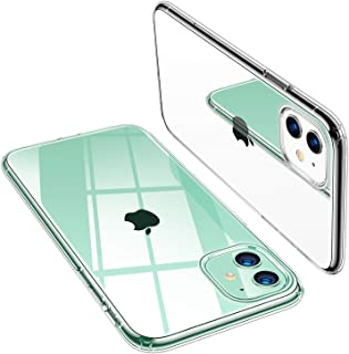 TORRAS Crystal Clear iPhone 11 Case, Soft Silicone TPU Thin Cover Slim Gel Phone Cover Case for iPhone 11 6.1 inch (2019), Crystal Clear