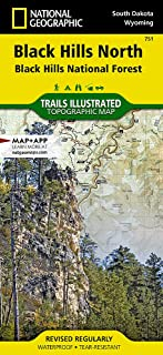 Black Hills North [Black Hills National Forest] (National Geographic Trails Illustrated Map)