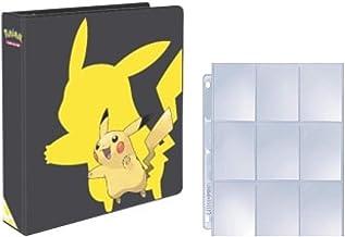Ultra Pro Pokemon 2019 Pikachu 3-Ring Binder with 25 Platinum 9-Pocket Pages