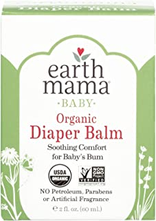 Earth Mama Organic Diaper Balm Calendula Cream, 2-Fluid Ounce