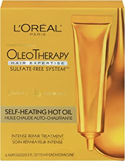 L'Oreal Paris Hair Expertise OleoTherapy Self Heating Power Doses, 1 Count