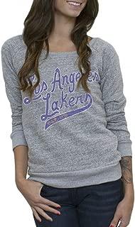 Los Angeles Lakers Vintage Womens Marled Fleece