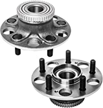 Rear Wheel Hub and Bearing Assembly Left or Right Compatible Acura RSX Honda Civic AUQDD 512259 x2 (Pair) [ 5 Lug w/ABS ]