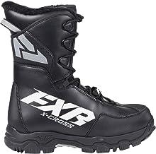 Black//White//Charcoal, Mens 9 // Womens 11 // EU42 FXR X-Cross Pro BOA Boot