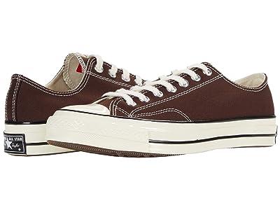 Converse Chuck 70 OX (Dark Root/Black/Egret) Athletic Shoes