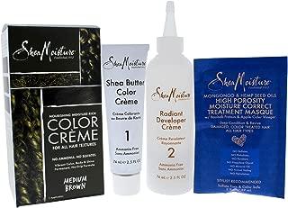 Shea Moisture Nourishing Hair Color Kit, Medium Brown