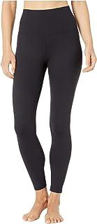 Manduka Women's Fnd Leg-Hr 7/8 W/Media Pkt-Black-XL