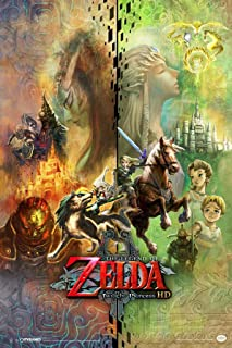 The Legend of Zelda Twilight Princess HD Collage Video Game Gaming Laminated Dry Erase Sign Poster 12x18