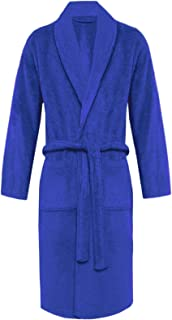 Unisex Mens Womens 100% Luxury Egyptian Cotton Super Soft Terry Towelling Bath Robe Ladies Dressing Gowns Towel Bathrobe N...