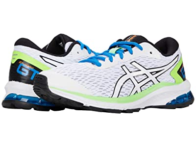 ASICS Kids GT-1000 9 (Little Kid/Big Kid) (White/Black) Boys Shoes