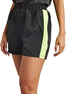 Side Striped Detail Track Shorts 80389837 For Women Closet by Styli